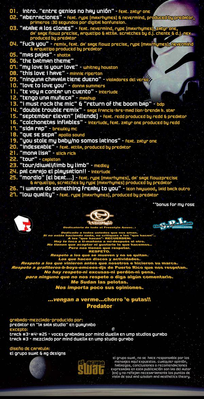 aBERRACIONES tracks